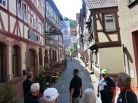 Wanderfahrt des Traditionsachters in Miltenberg